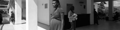 expectant mother at the MNH center
