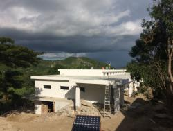 Maternal health center under construction